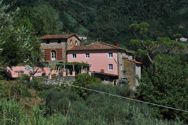 Vakantiehuis Toscane Lucca zwembad - kersenhuis - hele huis
